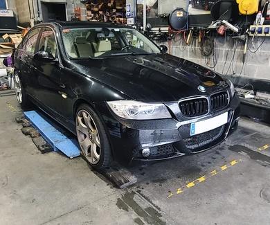 BMW E90 - Ajuste de aletas