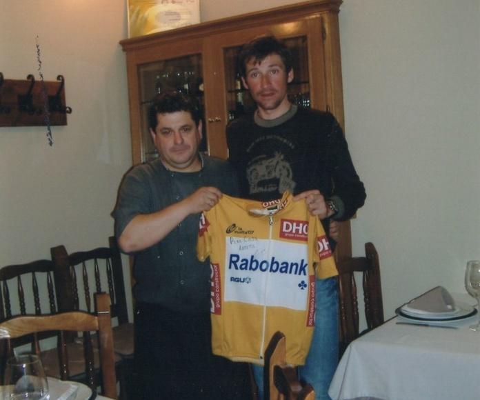 El ganador de la vuelta a España Denis Menchov