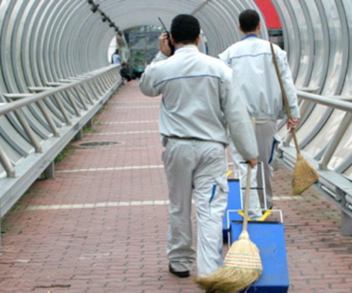 Limpiezas en obras: Servicios de Sauber
