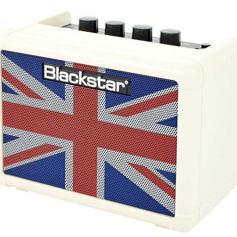 Mini amplificador a pilas Blackstar Fly 3 Delay, distorsion, clean
