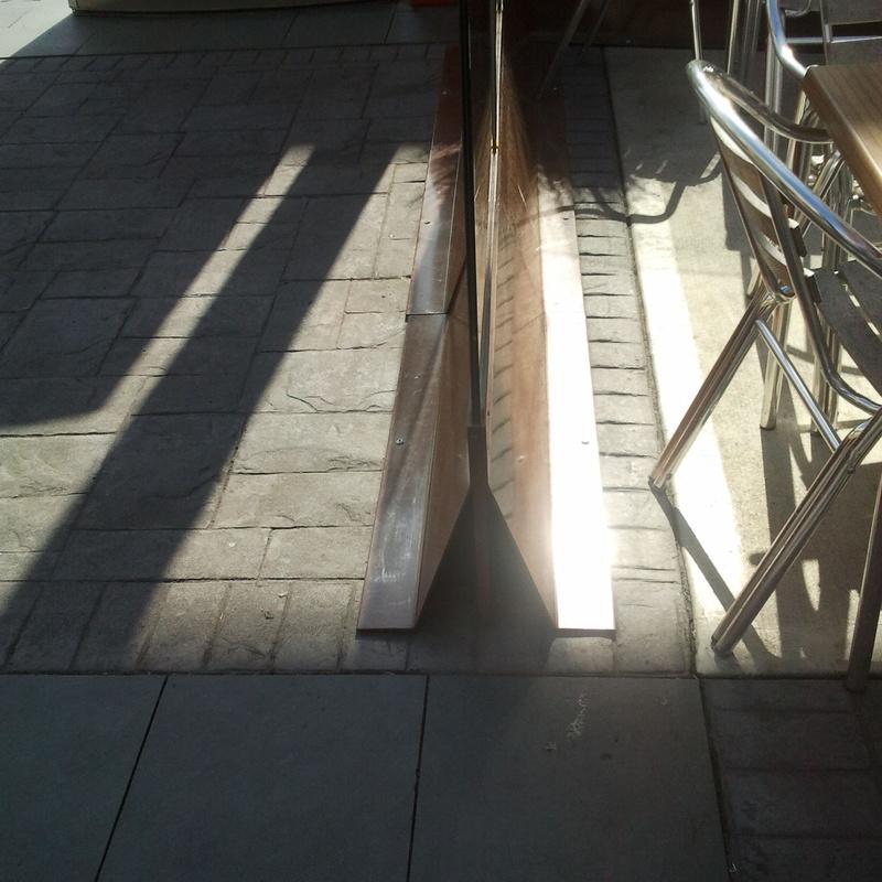 Separador de terrazas: Productos y servicios de Cerrajería Titulcia