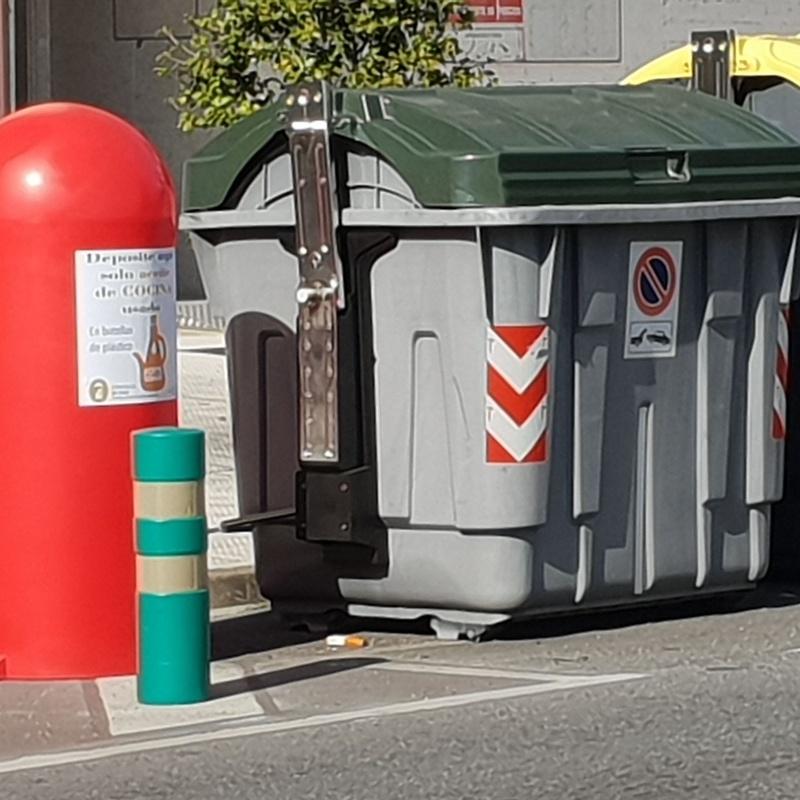 Bidón  reciclaje aceite Madrid