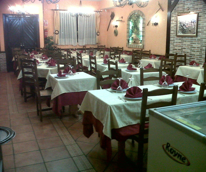 SALON 1: COMEDOR MENÚS: MENÚS de Restaurante Terraza La Parrilla de Valdemoro