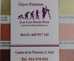 Galería de Pinturas, Barnices y Papeles pintados en Madrid | Hiper Pinturas Moratalaz