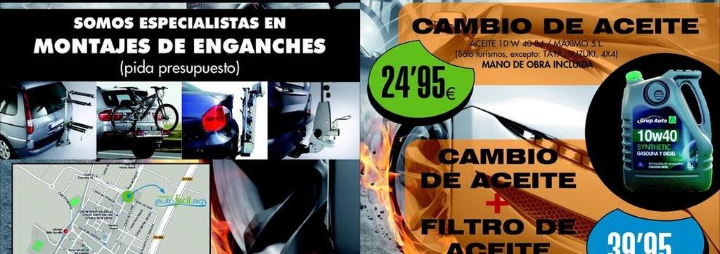 Taller de automóviles en Albalat dels Sorells | Autofácil.AQ
