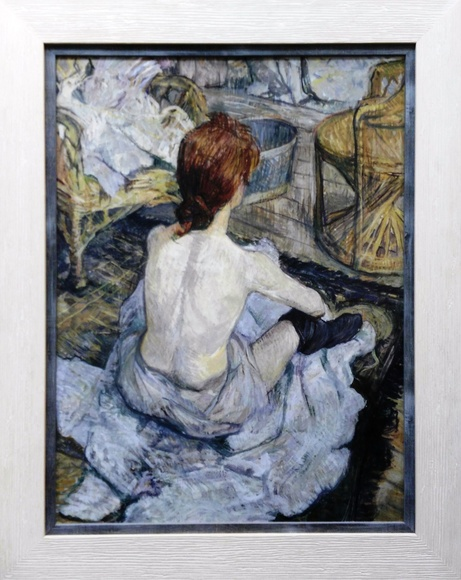Bailarina descansando. Tolouse Lautrec: CATALOGO de Quadrocomio La Casa de los Cuadros desde 1968