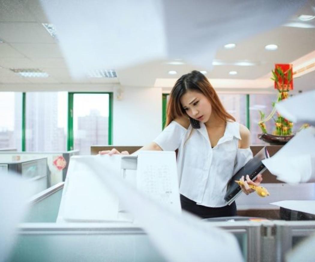 Las averías más comunes en las fotocopiadoras