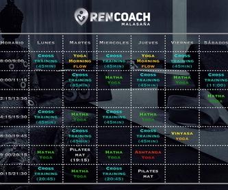 Entrenamiento funcional: Servicios de Ren Coach Boutique
