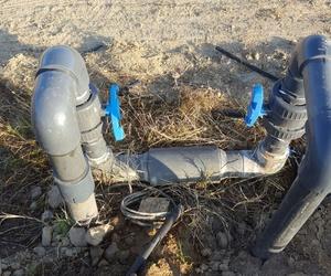 modificación de riego y reparación de válvulas de paso en Campredo