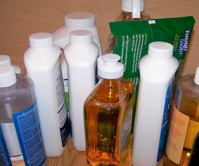 Productos de limpieza concentrados