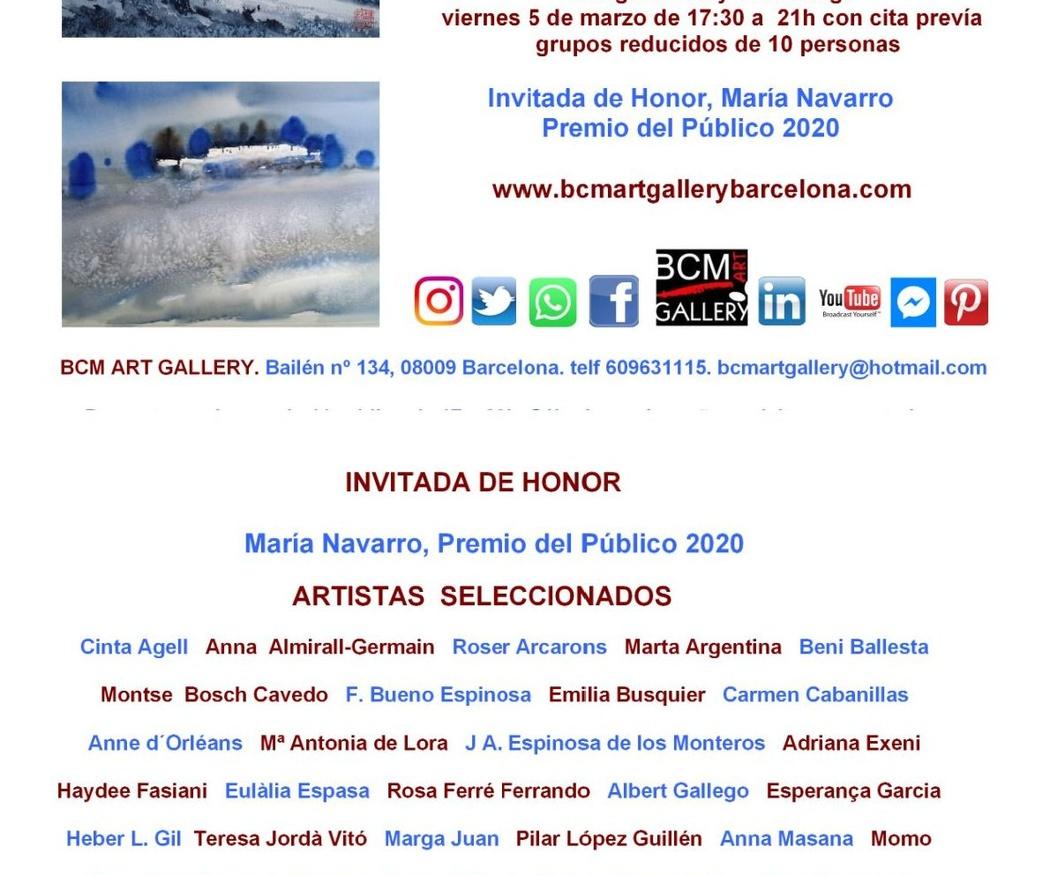 IX SALÓN DE ACUARELA , DIBUJO, GRABADO ESCULTURA  Y PINTURA AL AGUA