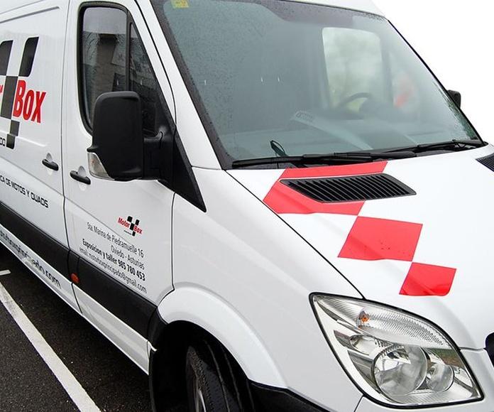 Rotulación de vehículos: Servicios de Rotulaciones GP