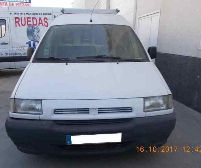 FIAT SCUDO 2001 blanco gasoil: Catálogo de Autodesguaces De Blas