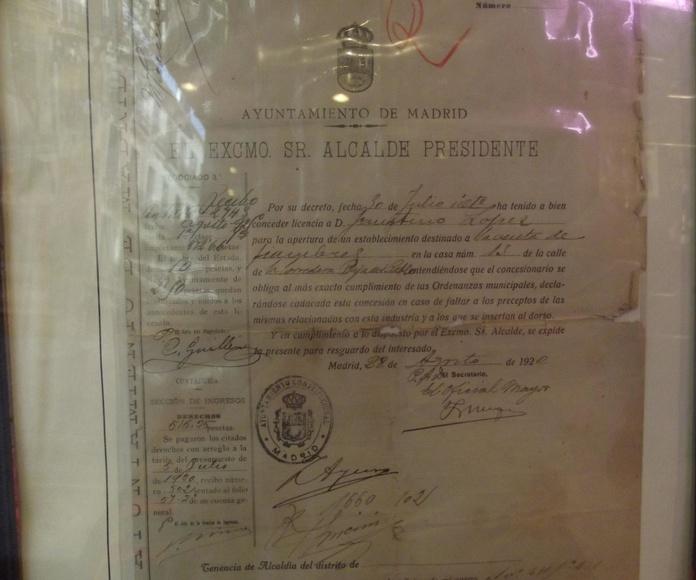 Licencia apertura 1920