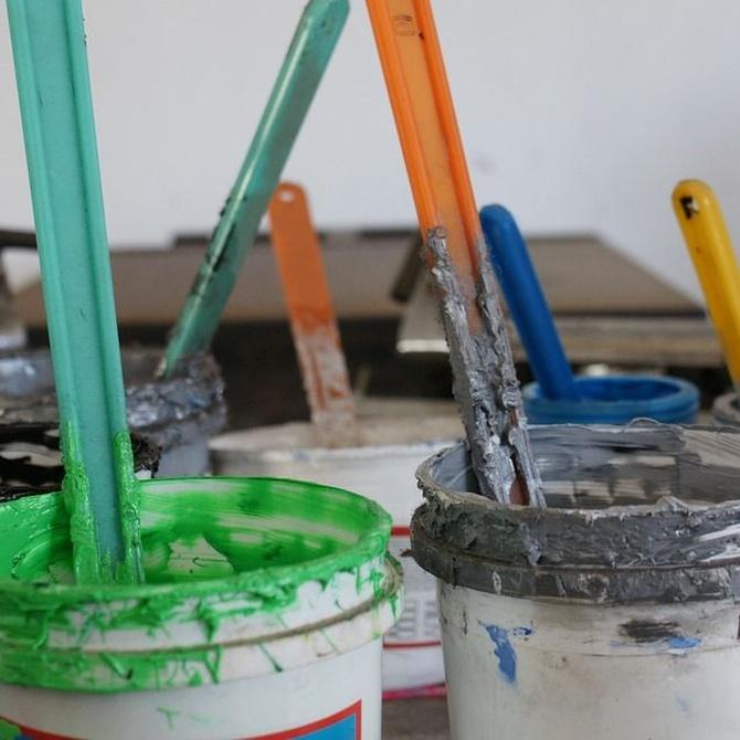 Pinturas para interiores y exteriores