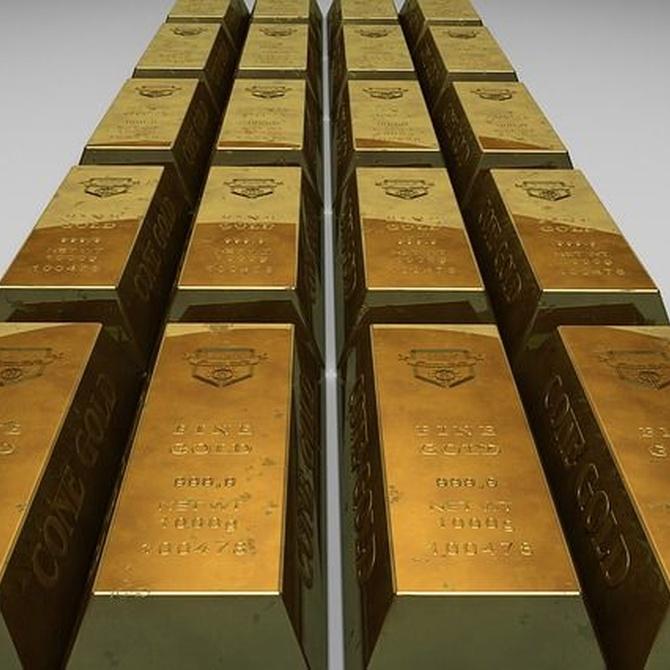 Las reservas de oro en el mundo
