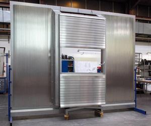 Sistema de pared / protección de columna HEMA