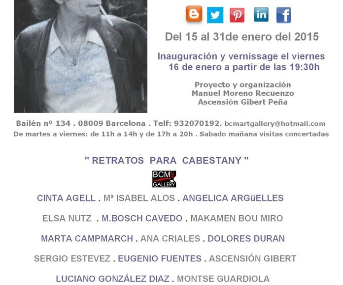 Exposición homenaje a Manuel Cabestany
