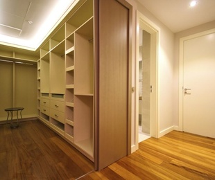 ¿Por qué no un armario abierto?