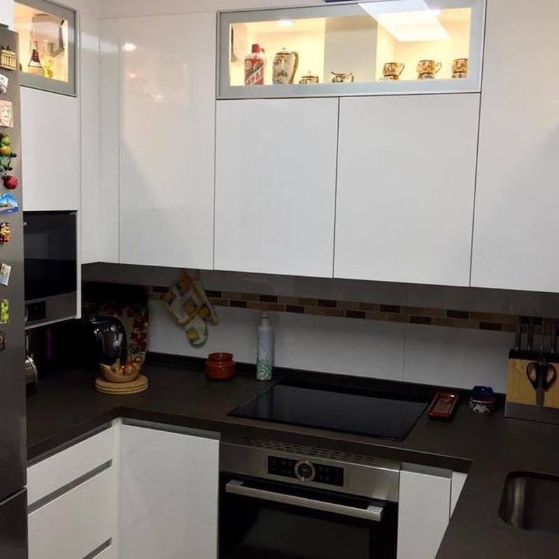 Cocinas reformadas: Mamparas, Cocinas y Baños de F. Alba, cocinas y baños