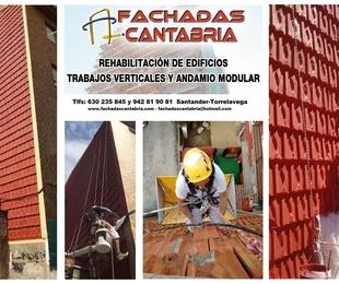 Reparación de fachada de tejas
