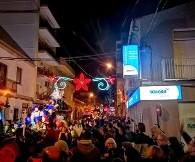Cabalgata de los Reyes Magos en Burjassot