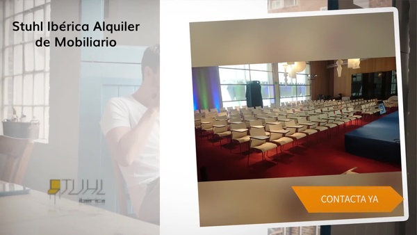 Alquiler de mobiliario en Zaragoza - Stuhl Ibérica