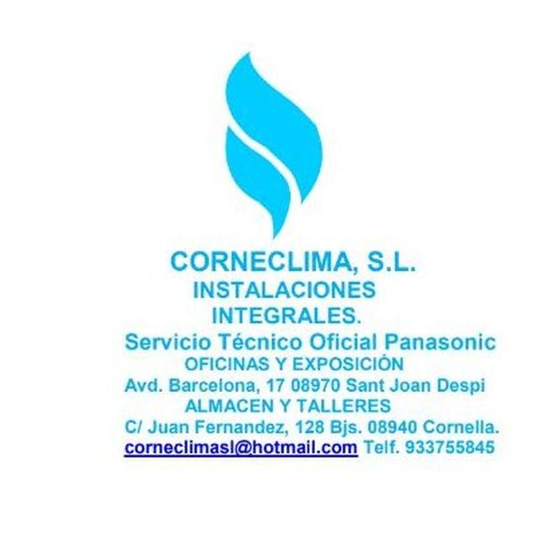 Nuevas Instalaciones: SERVICIOS de Corneclima