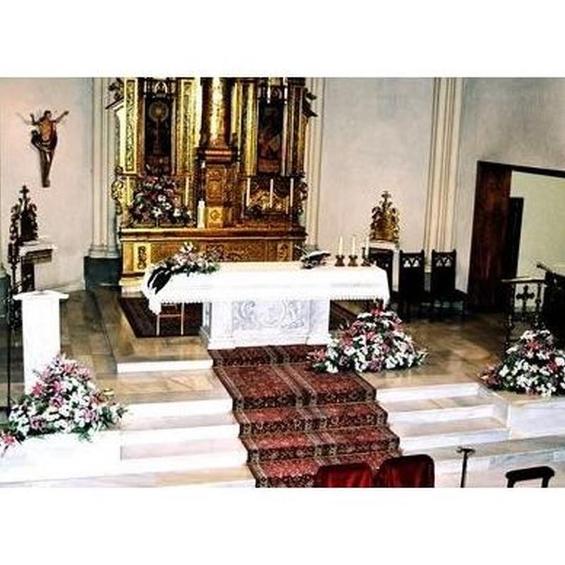 Decoración de iglesia : Productos de Flores Madrid