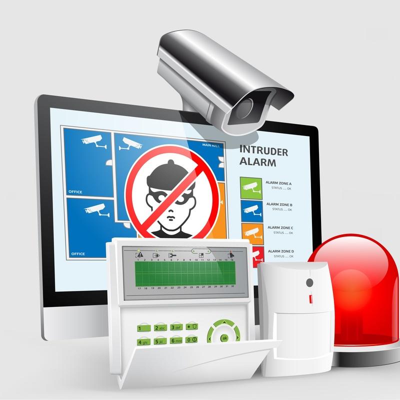 Alarmas: Sistemas de seguridad de Graline, Sistemas de Seguridad