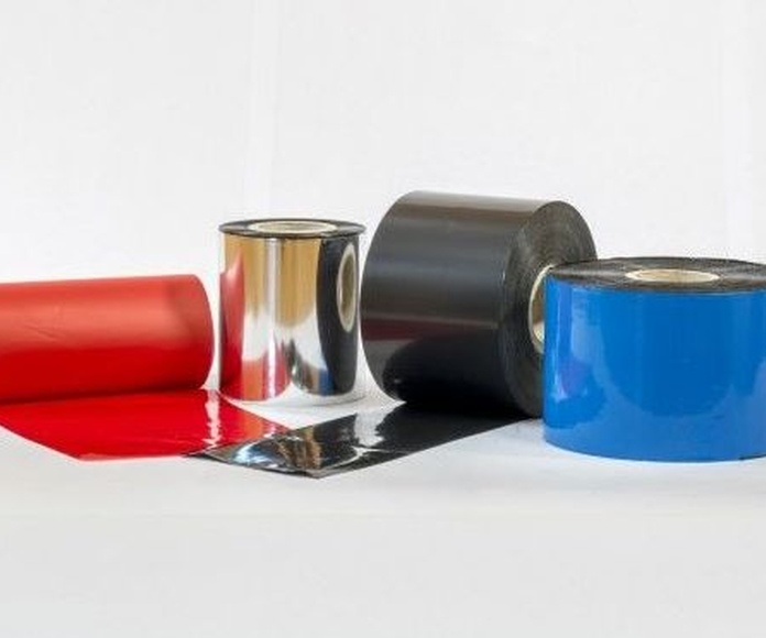 Ribbon Calidad Cera: Productos of Etiquetas Romero Comprometidos