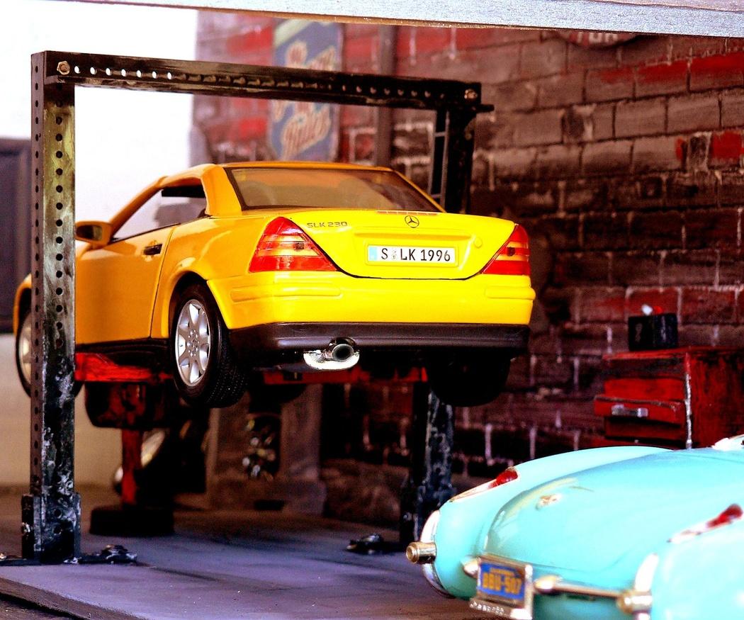 El  cambio de aceite en el automóvil
