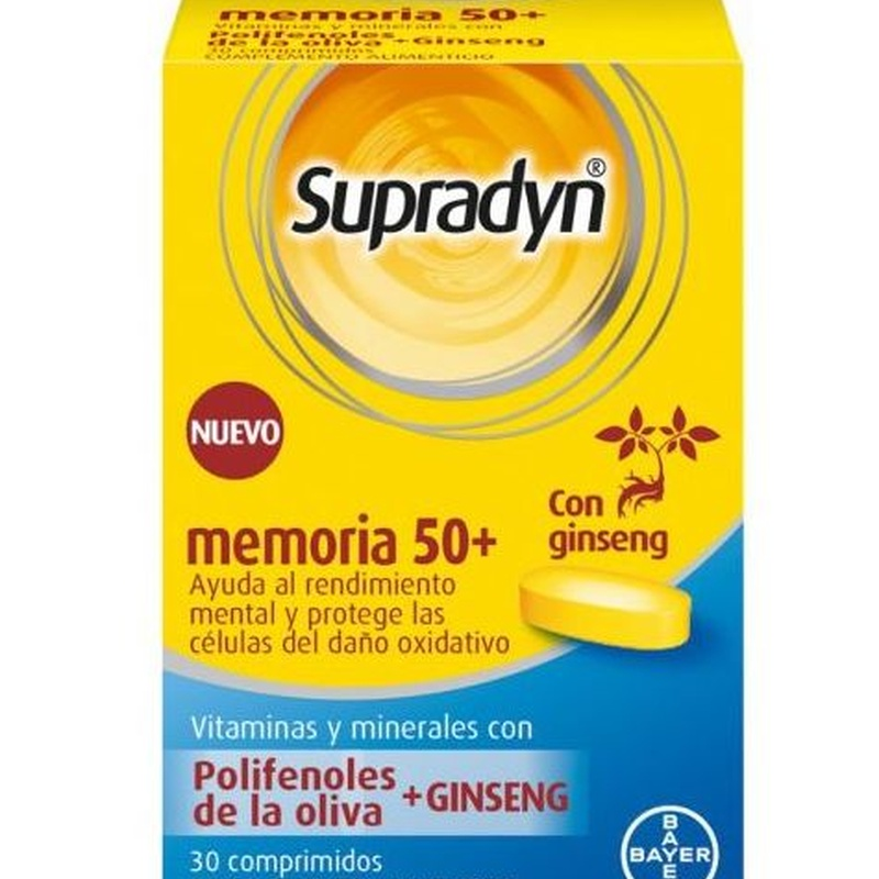 Supradyn Memoria 50+:  de Farmacia Rosa Cinca | Guissona | 365 | 8.30-21