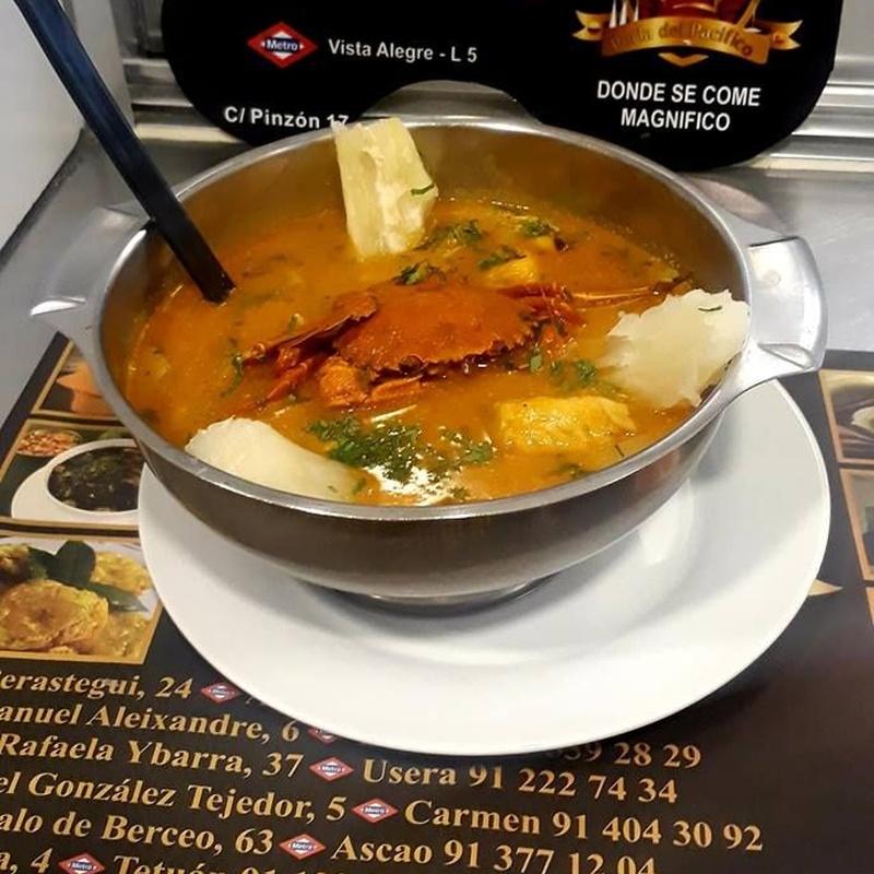 Especialidades: Servicios de Restaurante Perla del Pacifico