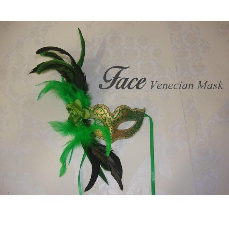 Antifaz con brillantina baby pluma: Máscaras y antifaces de Face Venecian Mask
