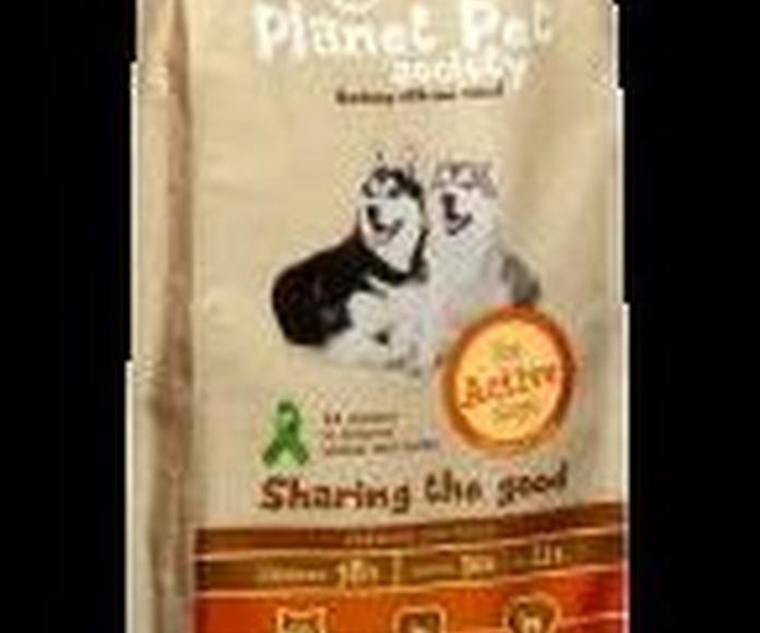 Planet Pet Perros Adultos activos de Pollo y arroz 15 kg