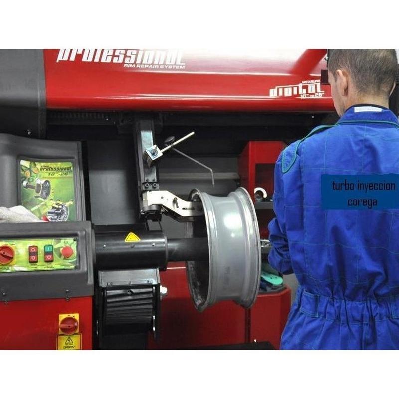 Reconstrucción Llantas de Aleación: Servicios de Turbo Inyección Corega