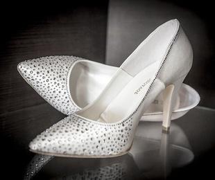 Las claves para acertar con los zapatos de novia
