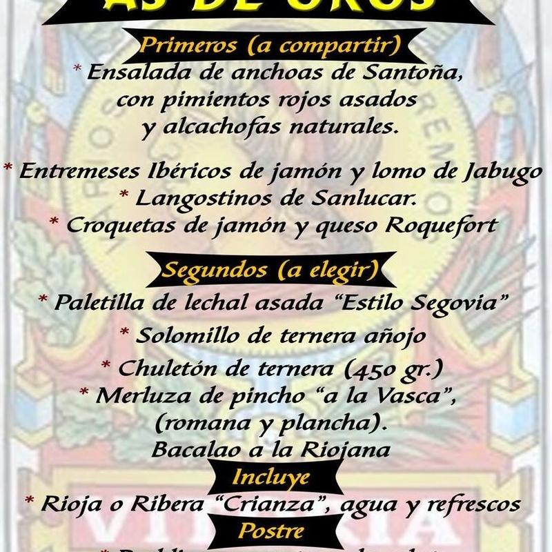 Nuestras especialidades: Especialidades de Restaurante Bodegón Ciri