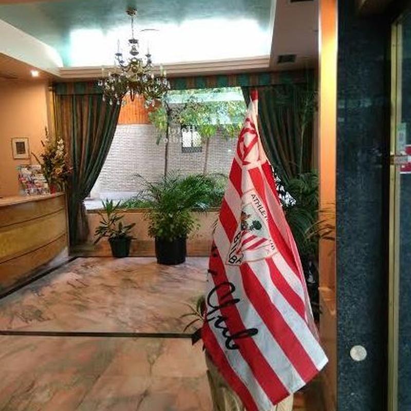 Hotel cercano al estadio San Mamés en Bilbao