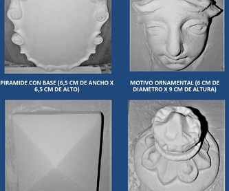 Baquetones: Catálogo de I. De Escayolas Palomares