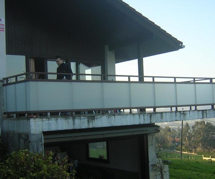 Terrazas acristaladas: Catálogo de Ventanas de Aluminio Miguel