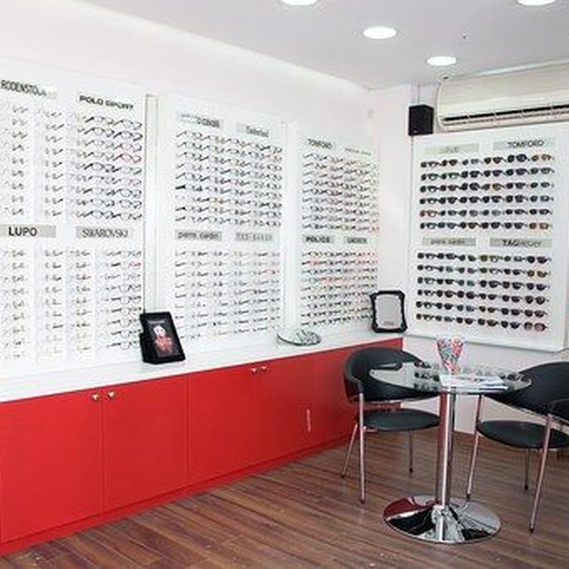 Servicios de optometría: Catálogo de Program Visión