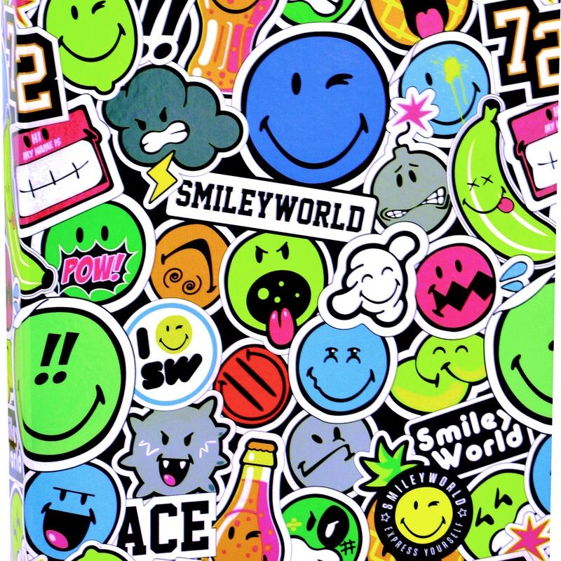 Carpeta 4 anillas SMILEY WORLD. SPORTANDEM