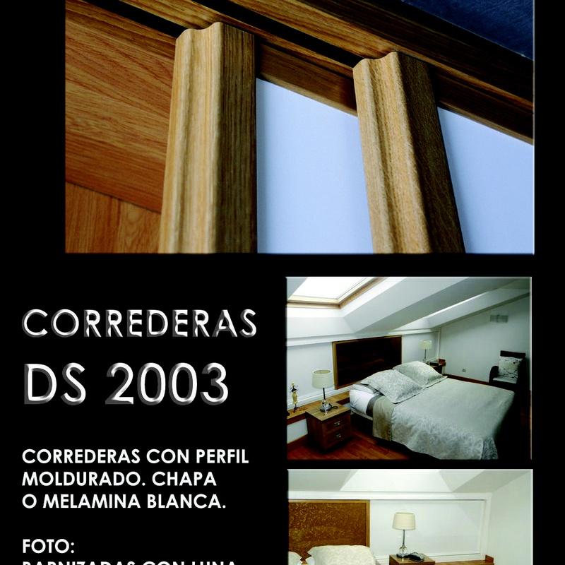 FRENTE CORREDERO DS 2003: CATALOGO  de Altxa