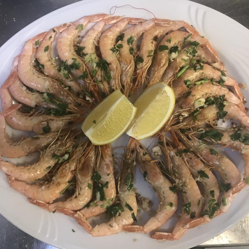 Ración de gambas: Menús de Restaurante Terraza La Parrilla de Valdemoro