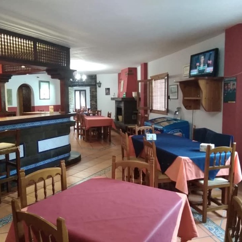 Amplios espacios para celebraciones en Capileira