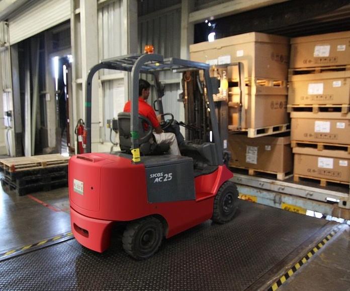 Servicios logísticos: Servicios de Transportes M. Iglesias