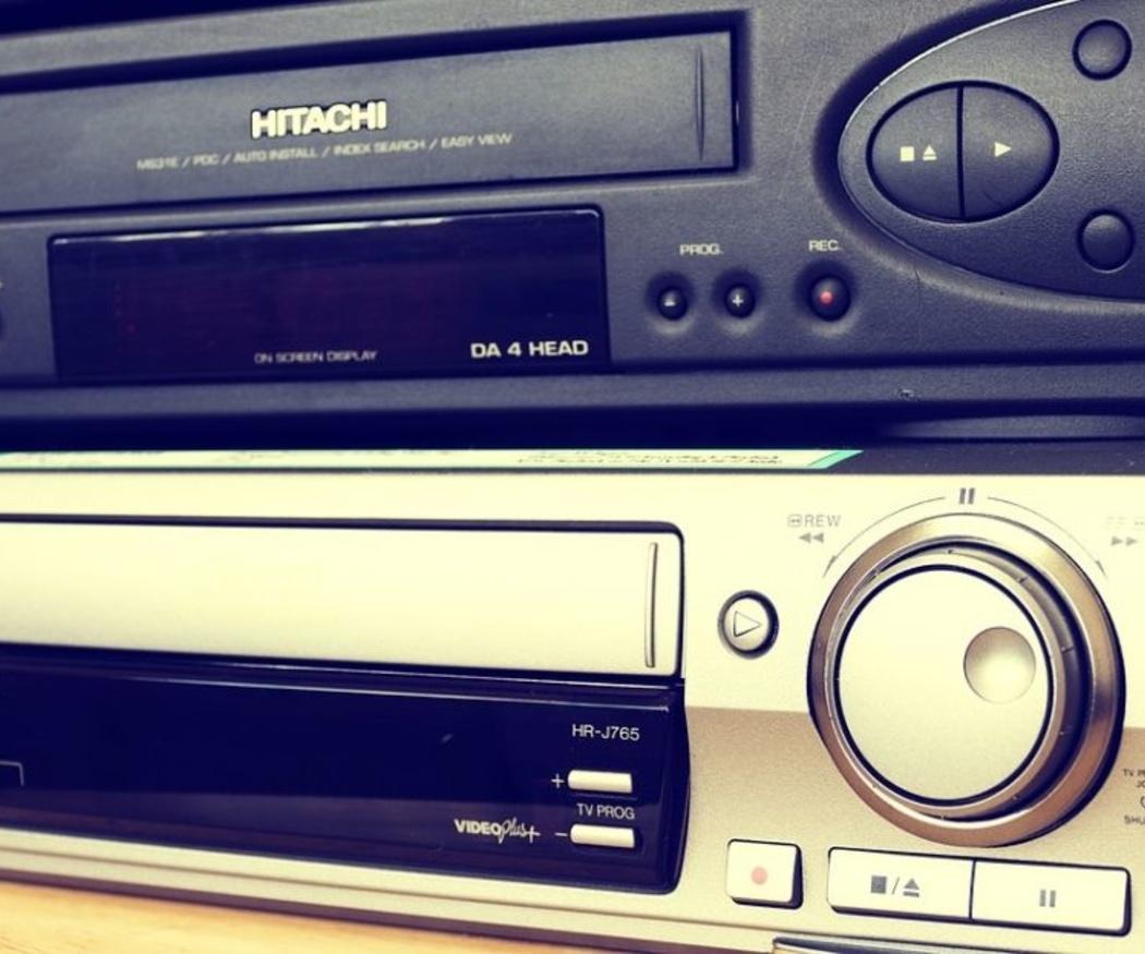 El VHS, aquel viejo sistema