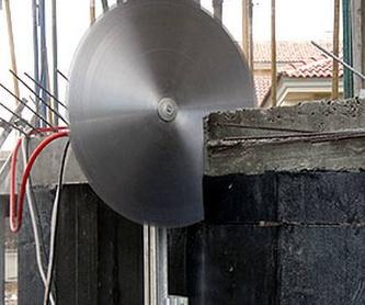 Sistemas auxiliares: Servicios de Perforaciones y Corte de Hormigón Miguel
